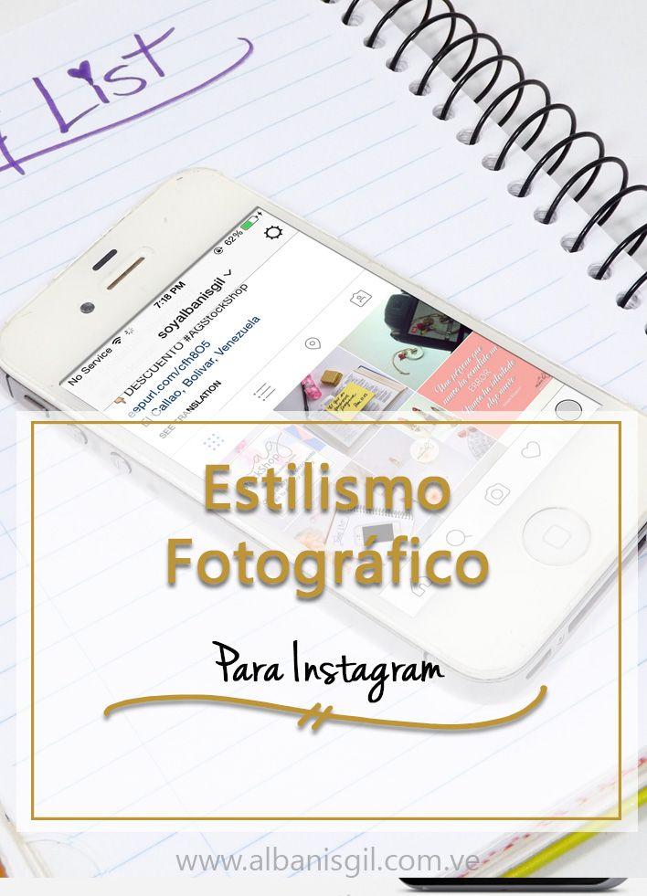 Aprende las claves para estilizar las fotos que publicas en Instagram