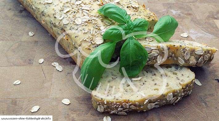 Leckeres Chia-Eiweißbrot - Low Carb Rezepte #flaxseedmealrecipes