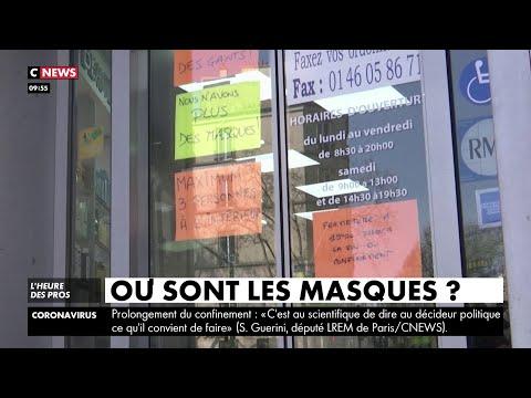Pourquoi la France manquetelle de masques ? YouTube en