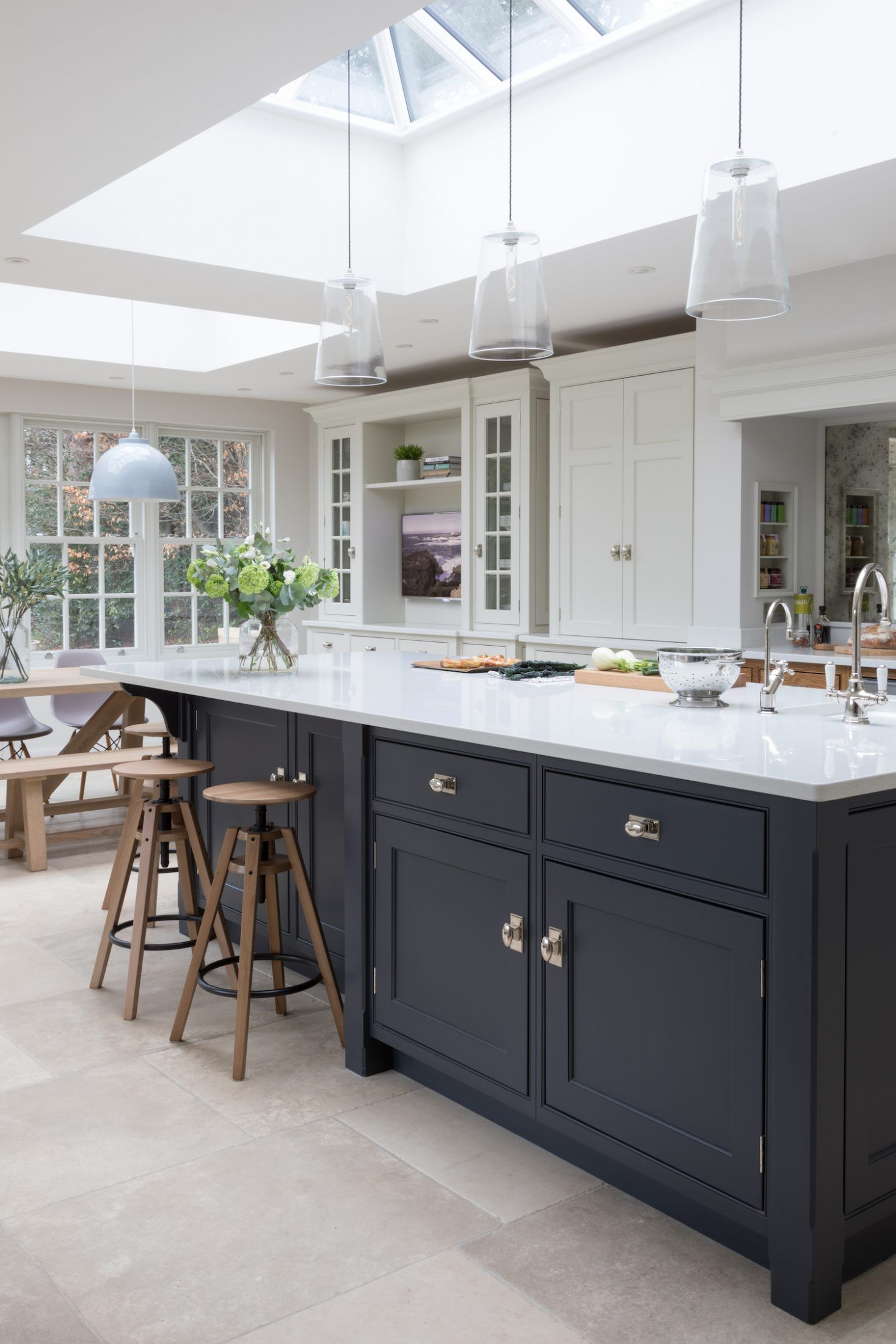 Interior Design Open Kitchen: Open Plan Family Kitchen, Cobham