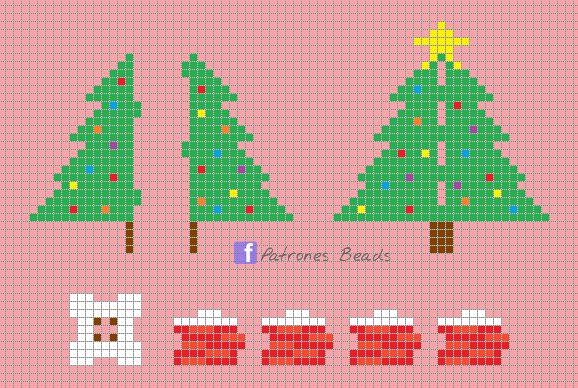3d Christmas Tree Perler Pattern Patrones Beads Plantillas Para Hama Christmas Perler Beads Perler Bead Art 3d Perler Bead