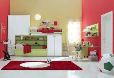 muebles de dormitorio para niños de color blanco | decoración ... - Muebles De Dormitorio Para Ninos