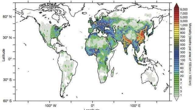 La contaminación podría duplicar en 2050 las muertes prematuras