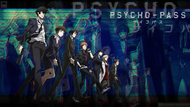 تقرير أنمي PsychoPass الموسم الثالث Psycho pass