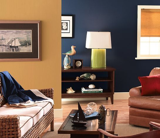 Paint Colors For Living Room | Blue And Tan Living Room Colors