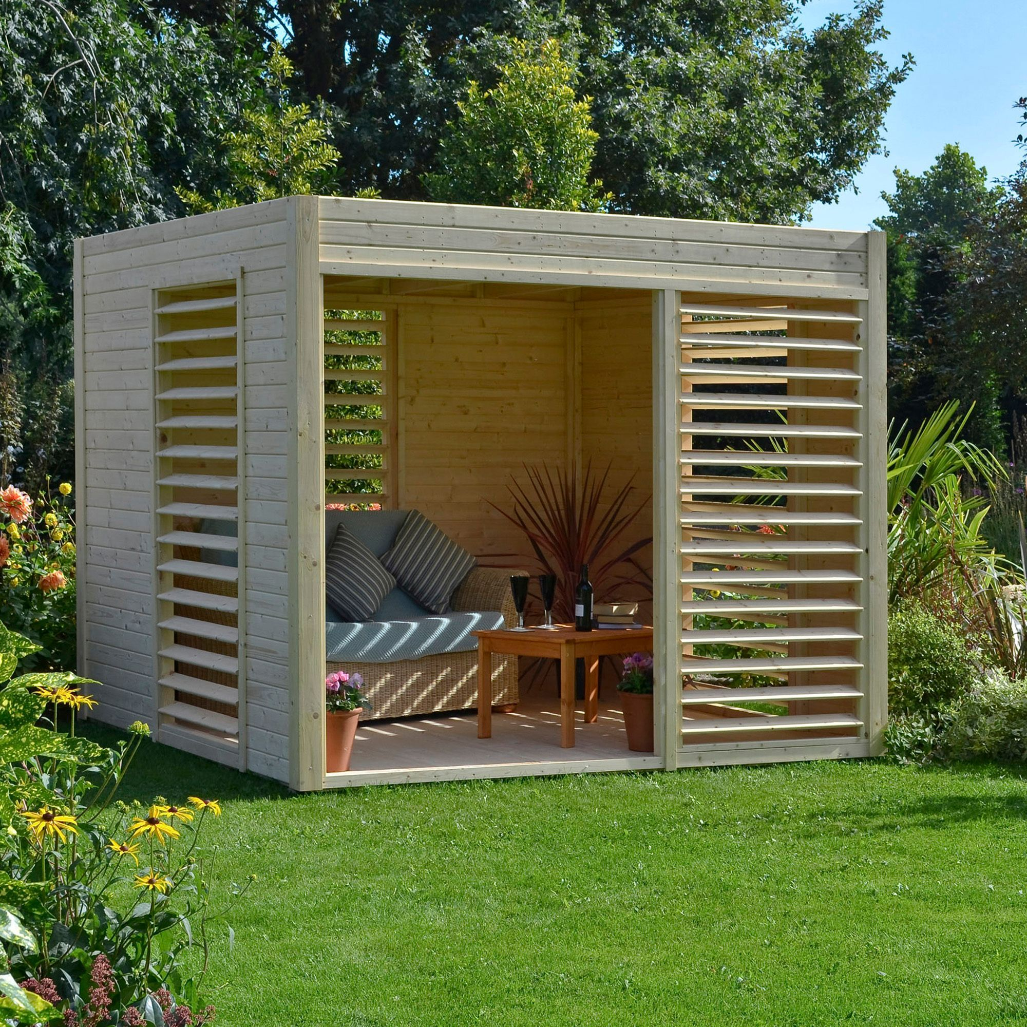 Rowlinson Carmen Natural Pavilion | Pavilion, Wooden pavilion and ...