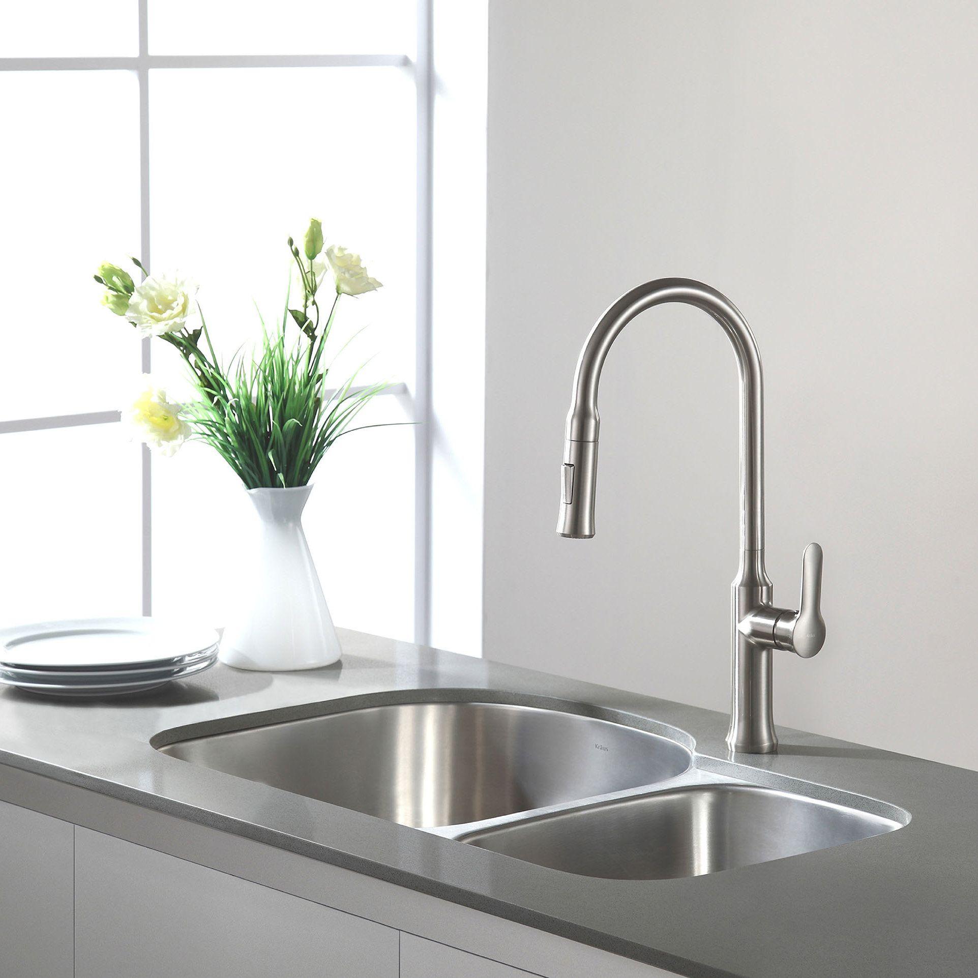 Stainless Steel 31 5 X 20 Double Basin Undermount Kitchen Sink