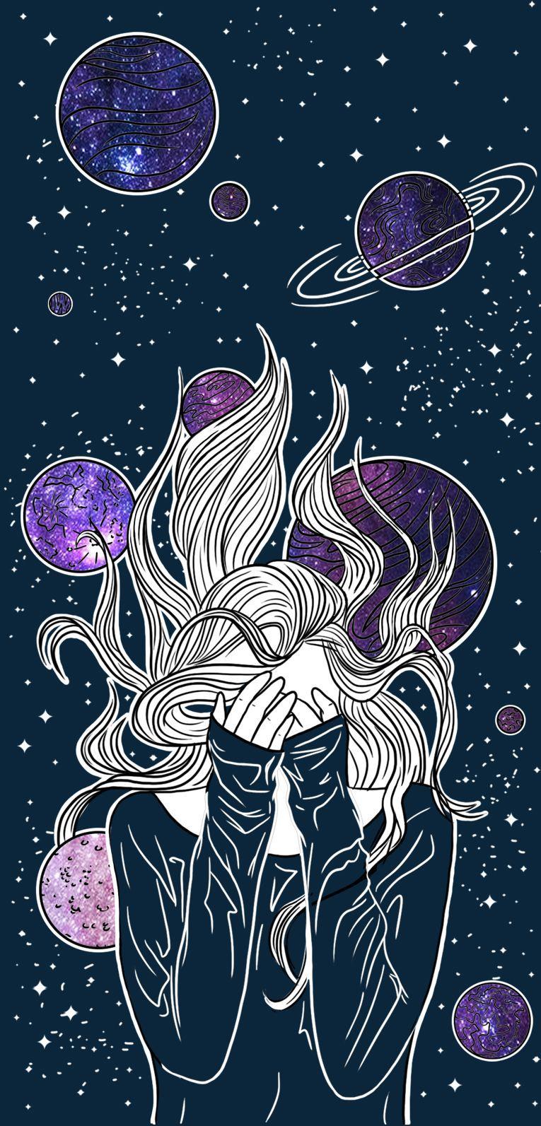 Cute Aesthetic Galaxy Wallpaper