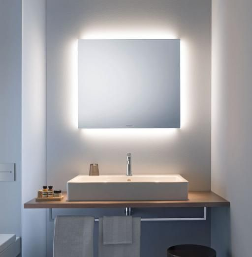 Mirror Design For Bathroom Alluring Light And Mirror Design Bathroom Mirrors  Duravit  Bathroom Design Decoration
