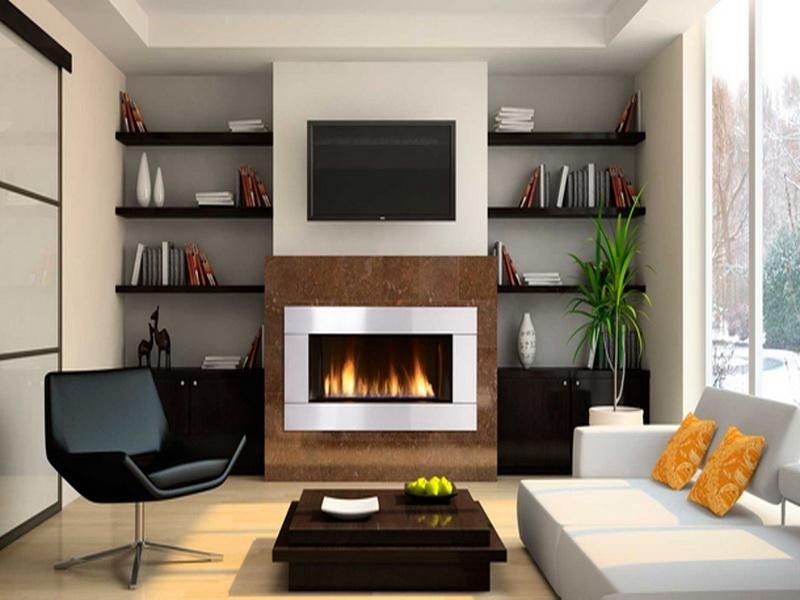 Luxury Contemporary Gas Fireplace Home Accessories Contemporary Fireplaces  Gas With Book Modern Gas Fireplace Images
