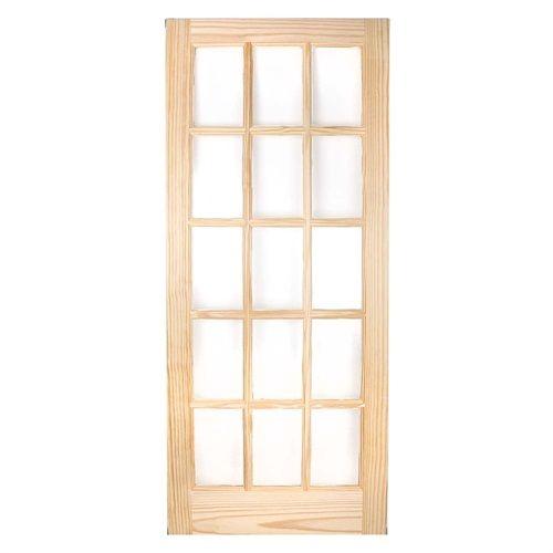 Howdens internal wooden knotty pine door 40mm 15 glass panel howdens internal wooden knotty pine door 40mm 15 glass panel planetlyrics Images
