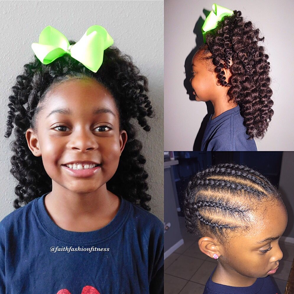 Crochet braids using 12u0026quot; Havana twist. Twist were unraveled | Natural hairstyles for kids ...
