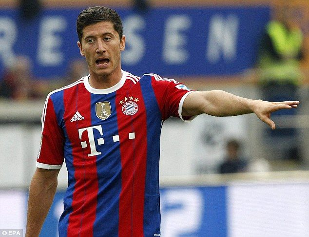 Robert Lewandowski (Bayern Munich)