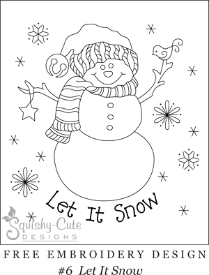 image relating to Snowman Patterns Printable identify Absolutely free printable embroidery types - hand embroidery layouts