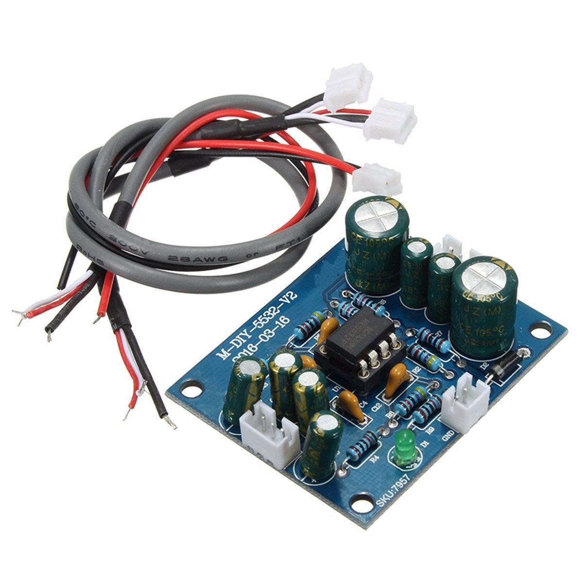 Ne5532 Op Amp Hifi Preamplifier Signal Amplifier Board For Bluetooth Wiring Pre Features 1 Two Panel Design The Effect Is Even Better 2