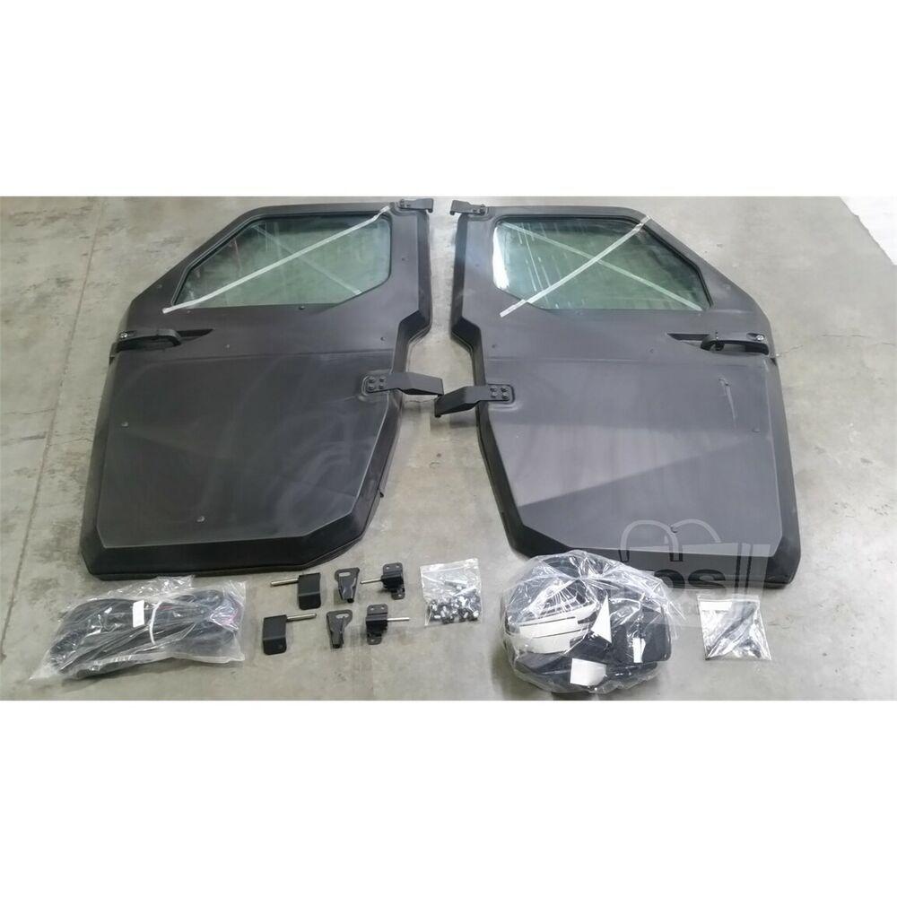 Ebay Advertisement Polaris 2880503 Power Window Doors For Ranger Xp 900 13 17 Polaris Ranger Xp 900 Black Doors Ranger