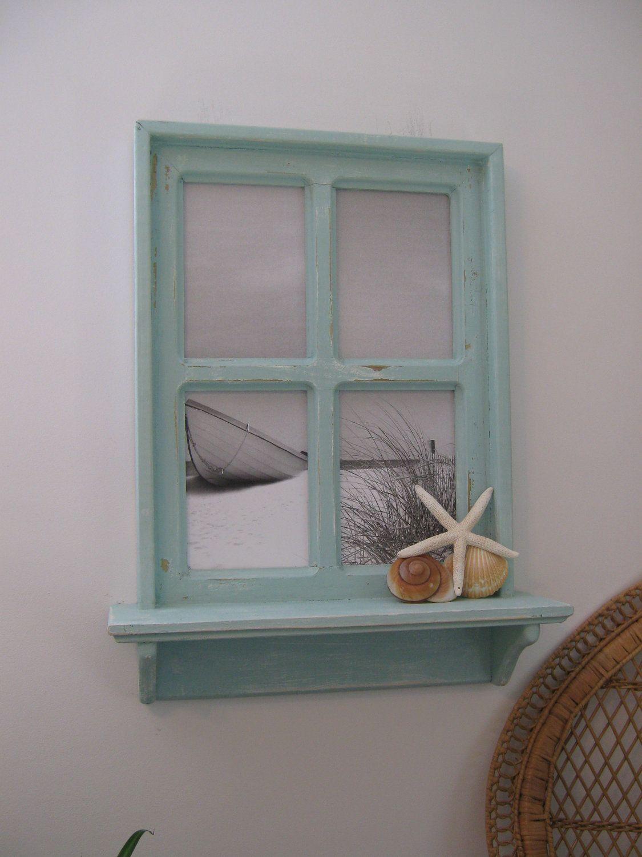 Decorative Window Frame, coastal picture, coastal touch/accessories ...