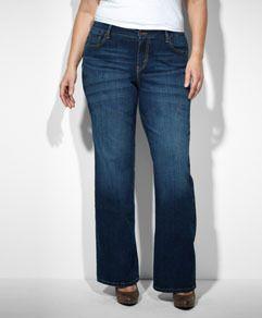 f7a39ddceff 580™ Defined Contour Waist Boot Cut Jeans (Plus) - Winding Road - Levi s -  levi.com