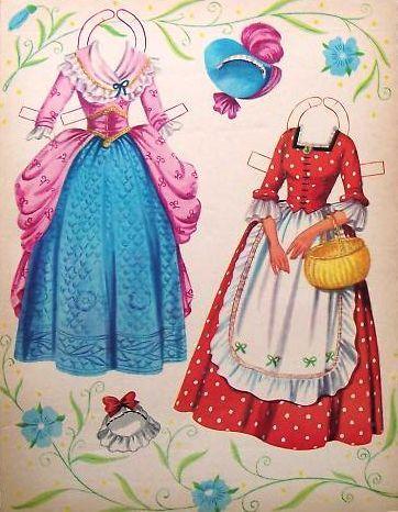 Saalfield American Colonial Paper Dolls - Sharon Souter - Picasa Web Albums