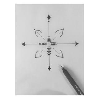 simple compass tattoos google search boussoles rose. Black Bedroom Furniture Sets. Home Design Ideas