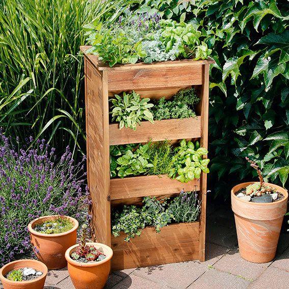 hochbeet kräuterturm aus akazienholz   meine nächsten projekte, Garten und Bauen