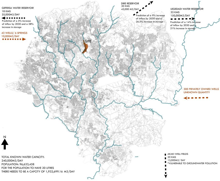 Pin by Fitse Gelaye on Maps of Addis Ababa | Thesis, Map, Design