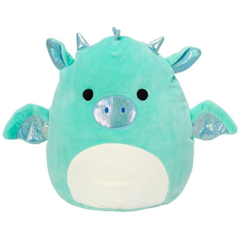 Small Teal Dragon Squishmallow Stuffed Animal 8 Blue Stuffed Animals Cute Stuffed Animals Plush Toy