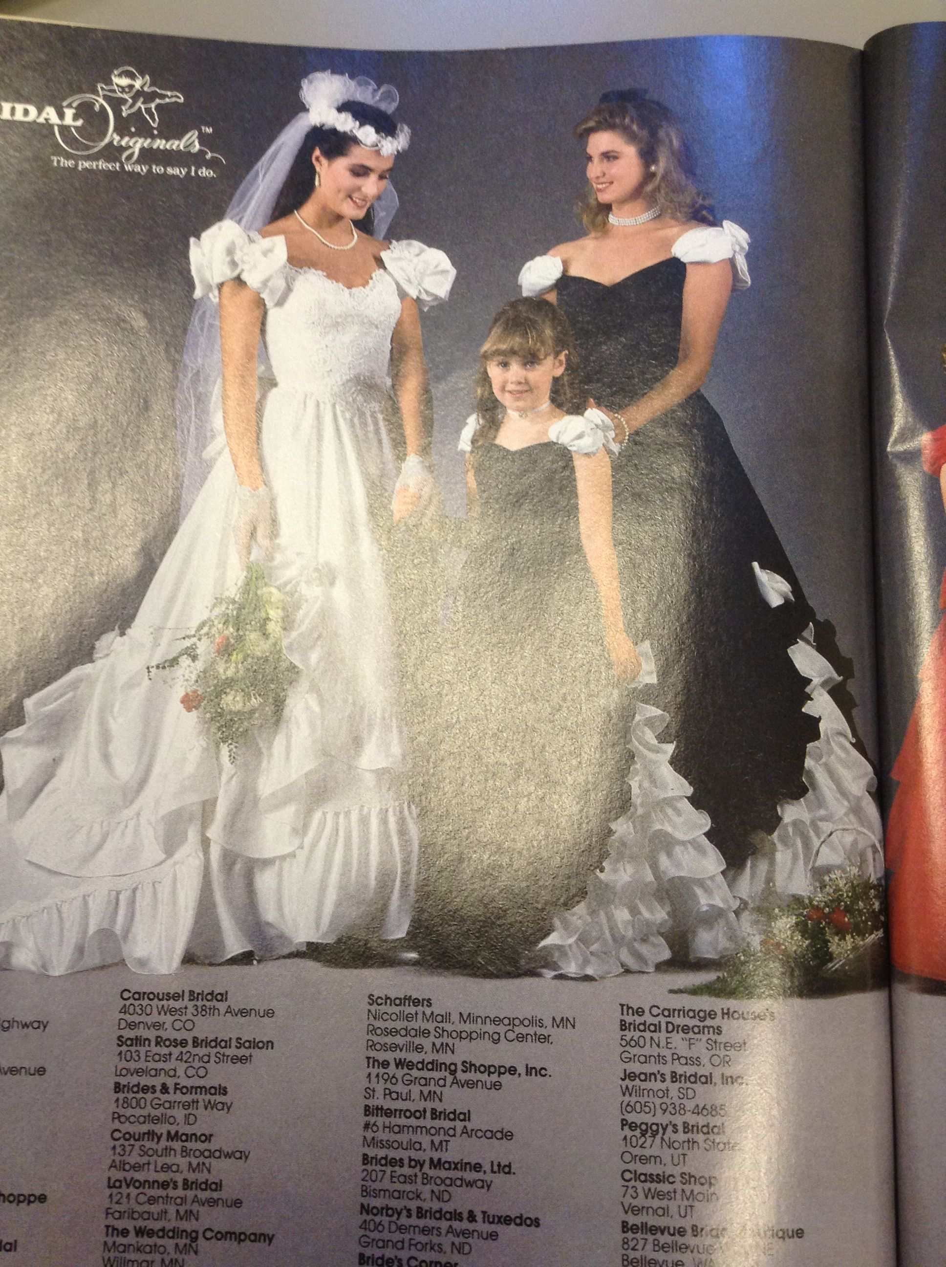 Love These Maids Dresses 1987 Why Cant A Bridesmaid Look Like A