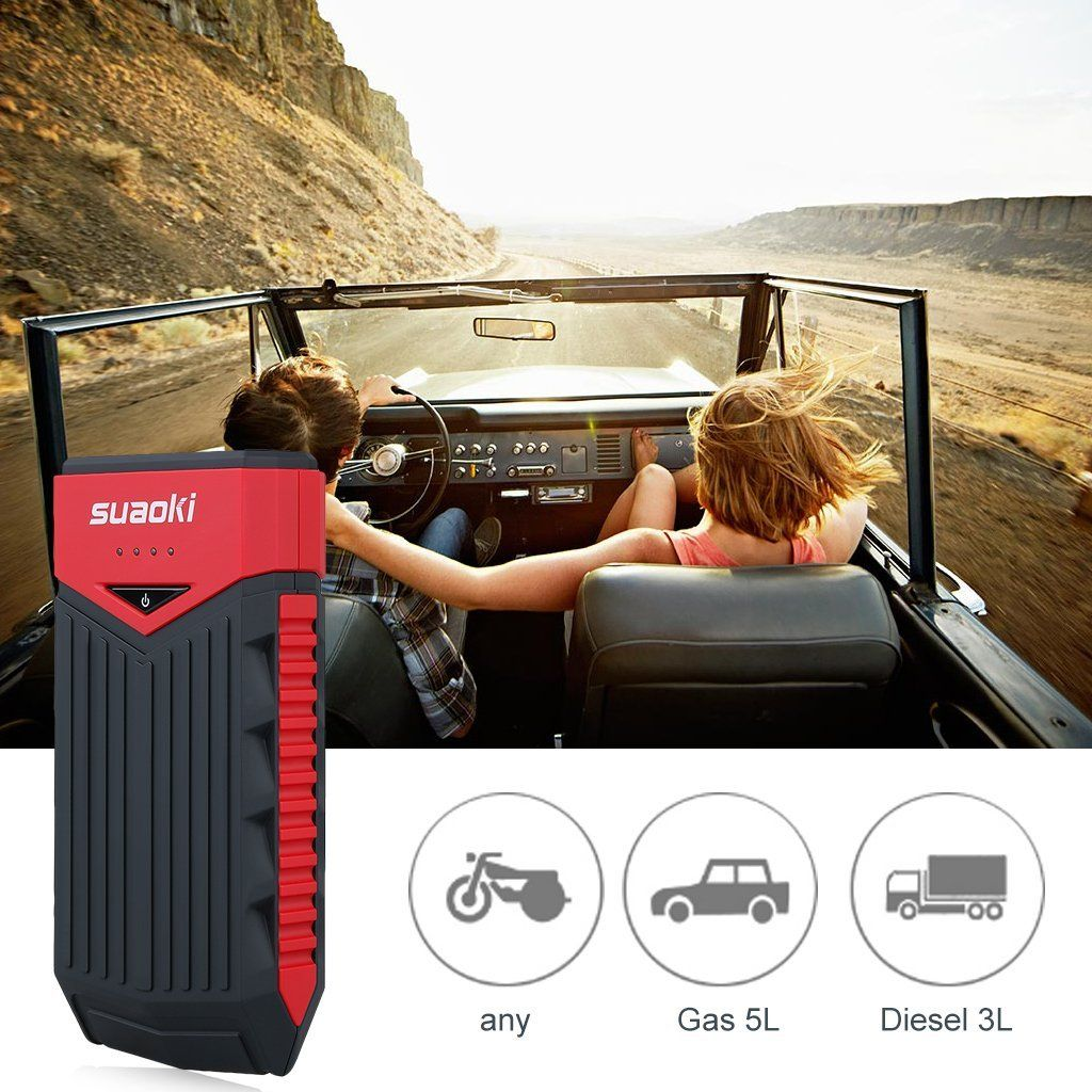 This Car Jump Starter is down to its lowest price Road