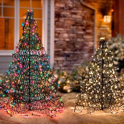 Crab Pot Christmas Tree Potted Christmas Trees Outdoor Christmas Decorations Christmas Tree