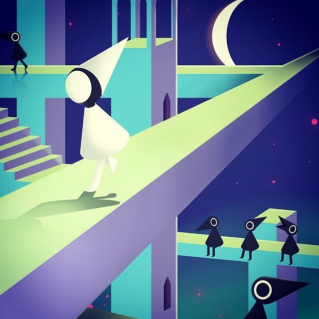 My Fan Art For The Game Monument Valley Check It Out It Ll Blow