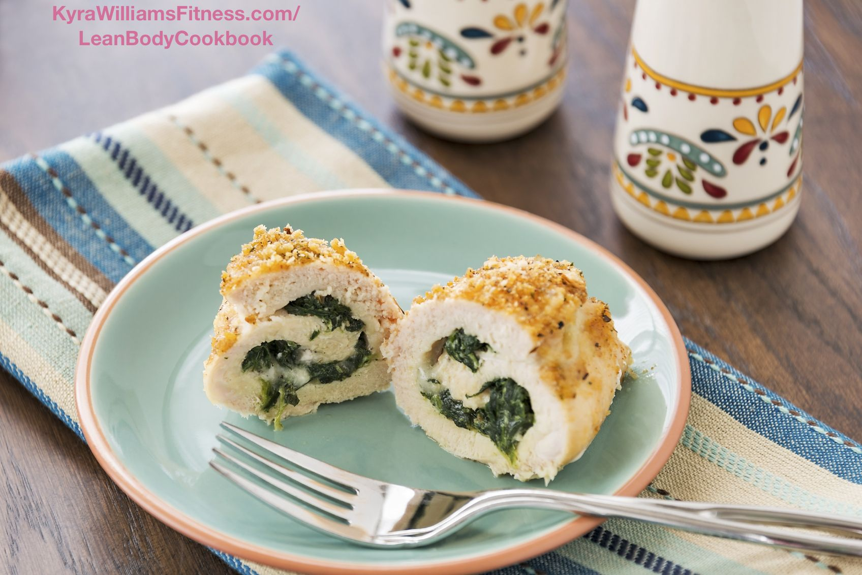 For chicken recipe breast with spinach stuffed