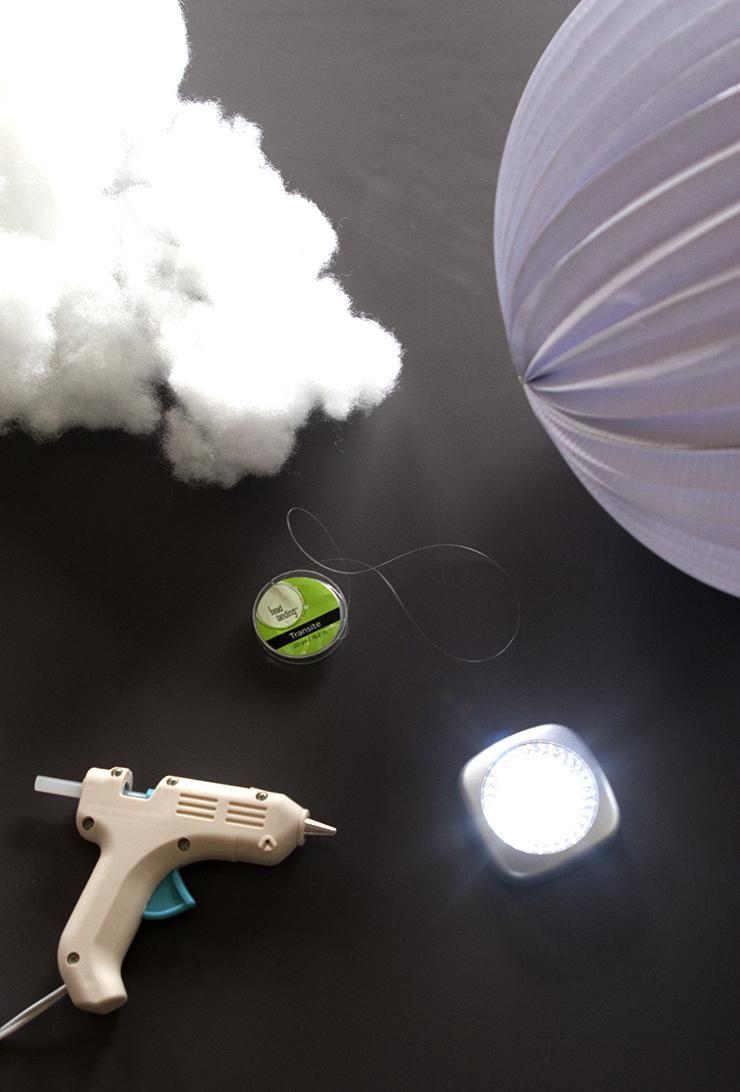 DIY LED Cloud Light DIY Diy cloud light, Led diy