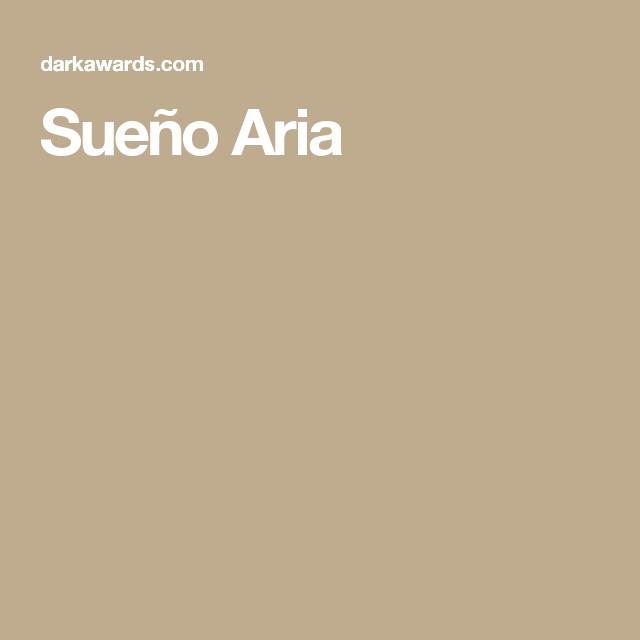 Sueño Aria