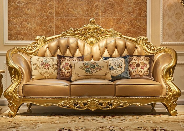 OE-FASHION New Modern living room furniture sets luxurious ...