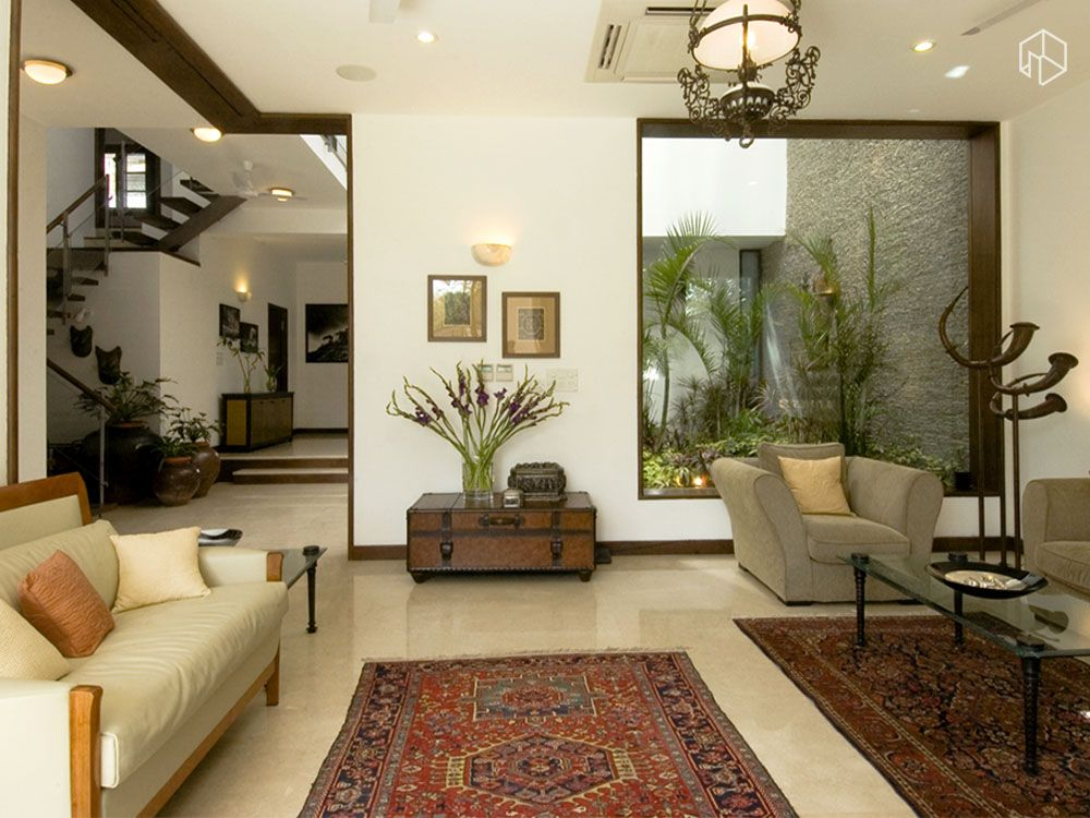 Living Room With Rugs Designed By Kumar Moorthy Associates