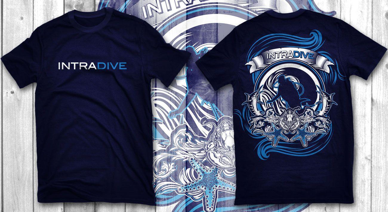 Shirt design ink - Modern Bold T Shirt Design For James Forbes By Do Ink Design