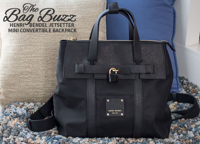 The Bag Buzz | Jetsetter Mini Convertible Backpack | Travel ...