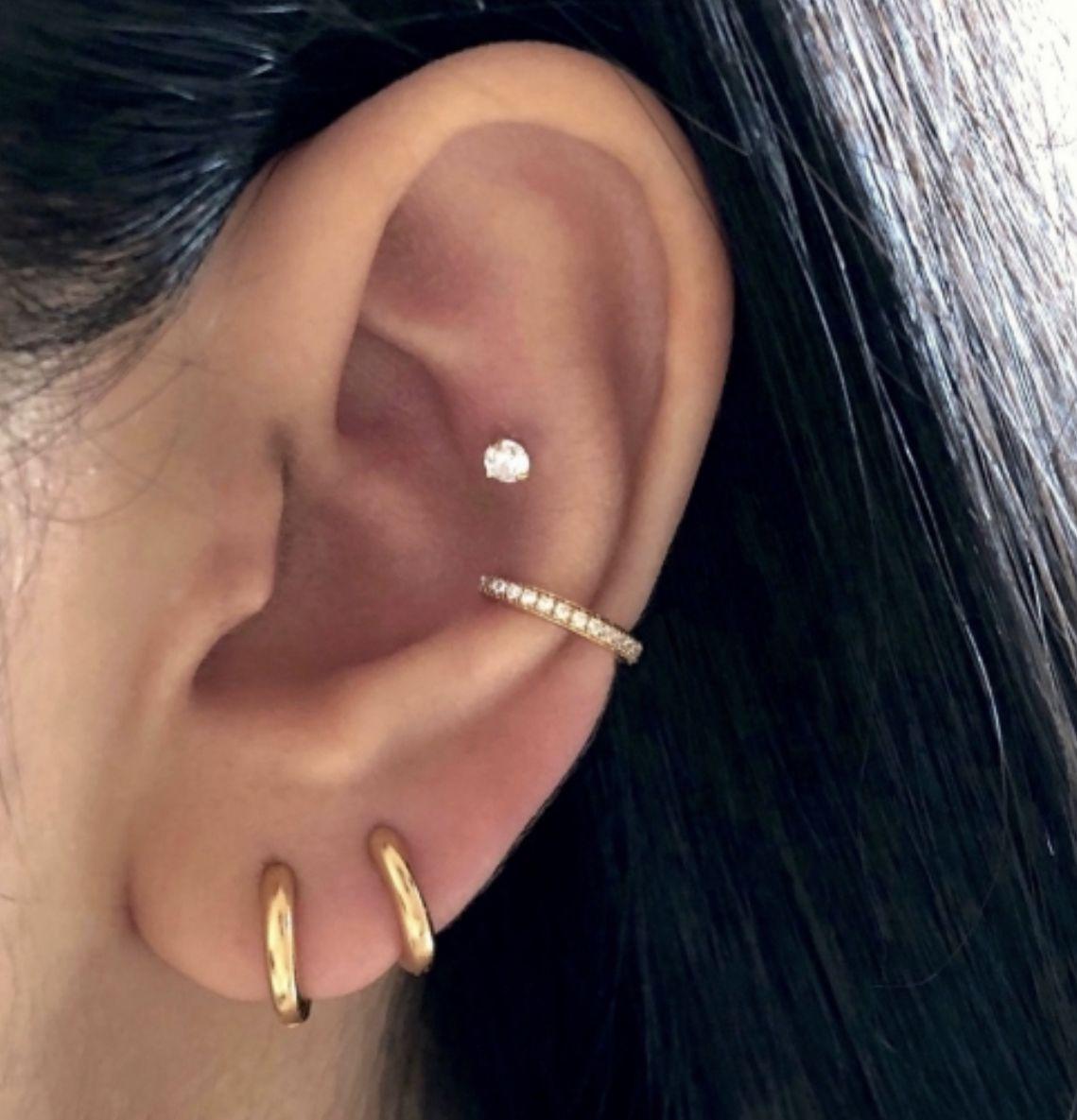 Sparkle Pave Ear Cuff