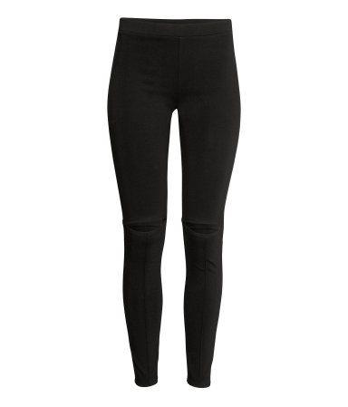 Cut out -leggingsit | Musta | Naiset | H&M FI