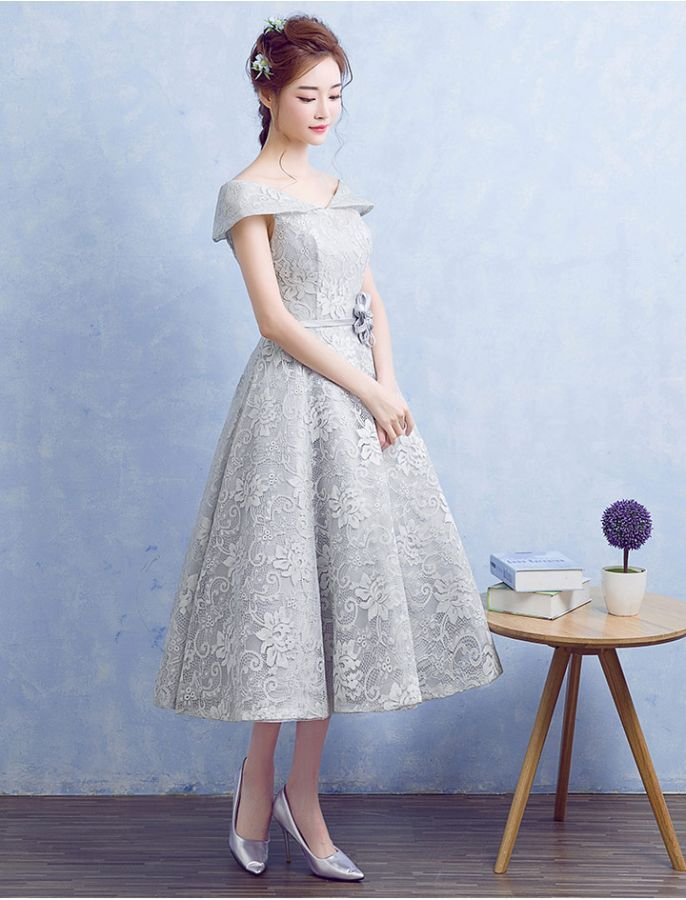 1950s Inspired Off Shoulder Floral Lace Dress   lace   Pinterest ...