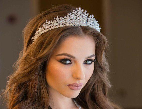 Crystal bridal headdress 4f66217acb5