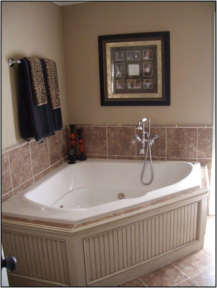 Garden Tub Tile Surround Ideas · Bathtub RedoPainted ...