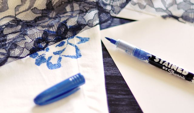 DIY floral jeans-5-1 by ...love Maegan, via Flickr