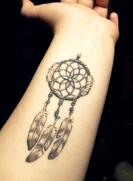 Dream Catcher Tattoo On Arm Simple Nice Dream Catcher Tattoo On Forearm  Tattoos  Pinterest  Tattoo Decorating Design
