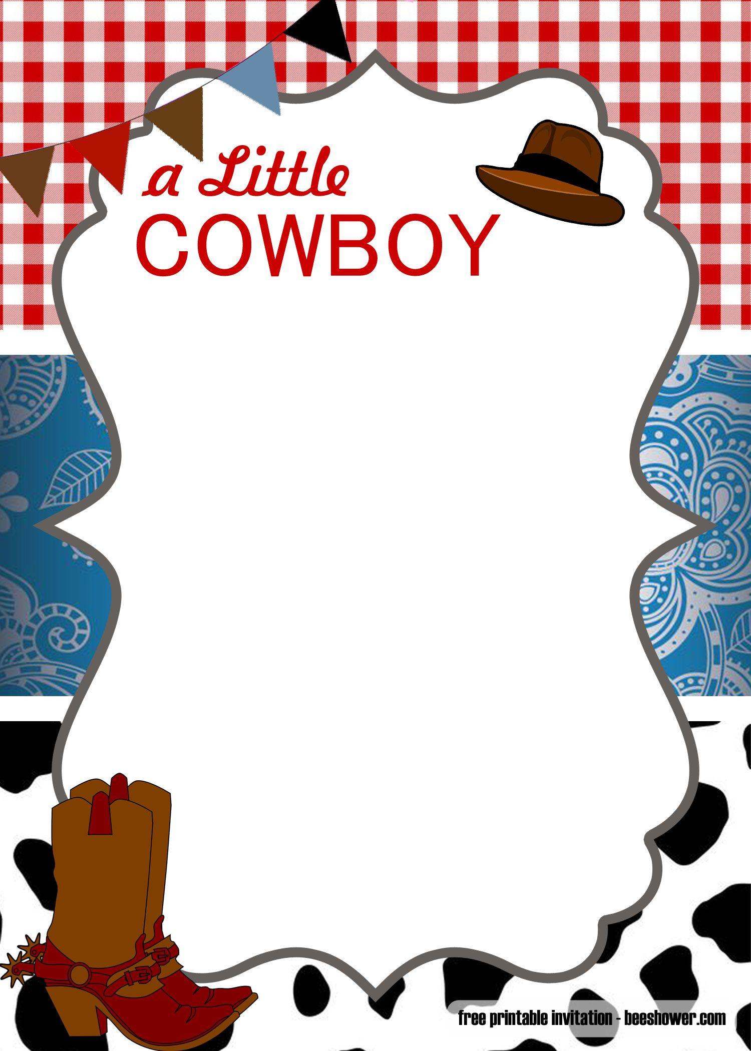 Free Free Cowboy Baby Shower Invitation Templates Cowboy Baby Shower Invitations Cowboy Invitations Cowboy Baby Shower