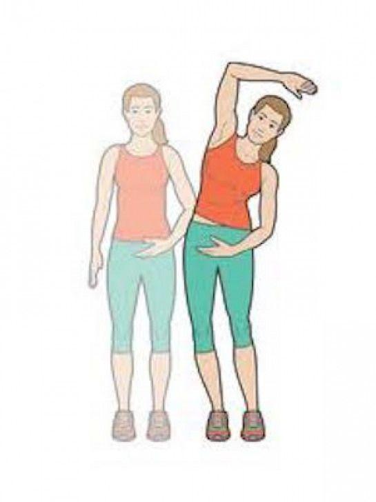 Faites des étirements des bras pour soigner douleur dos #fitnessandexercises #fitness #and #exercise...