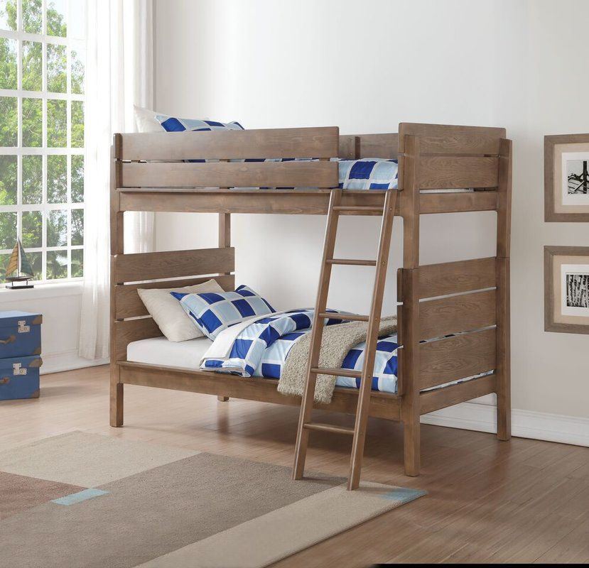 Finkle Twin Over Twin Bunk Bed Twin Bunk Beds Bunk Beds Bunk Bed Sets