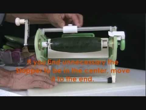 Vegg Q (Vegetable Slicer) Video 1/3 | Kitchen Knives