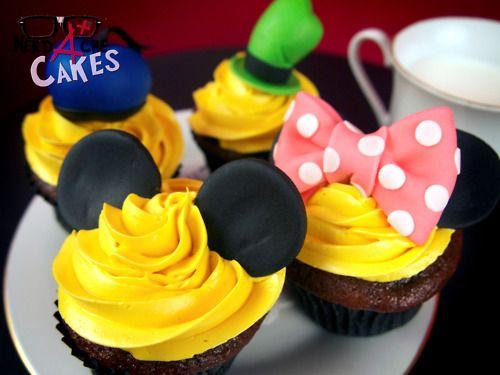 Disney! nerd-ache cakes